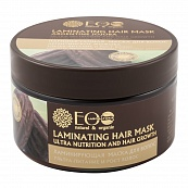 "Laminating Hair Mask ""Ultra Nutrition and Hair Growth"